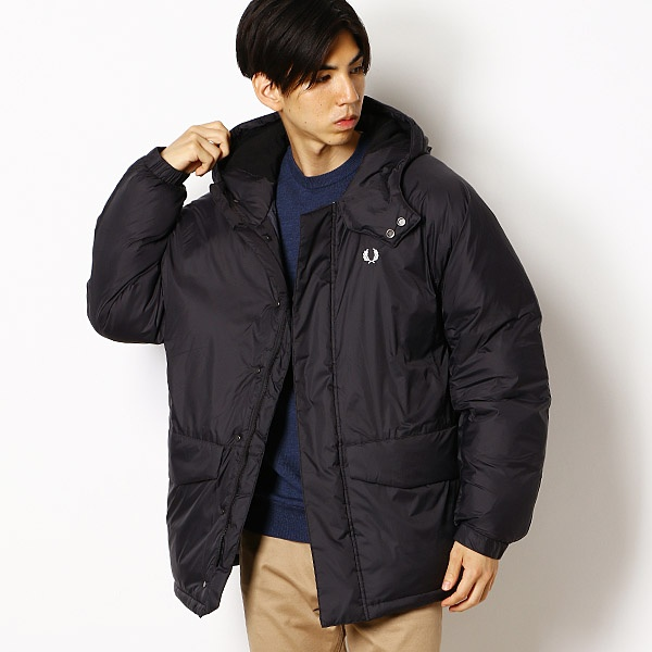 【19AW】PADDED PARKA/フレッドペリー(メンズ)(FRED PERRY)