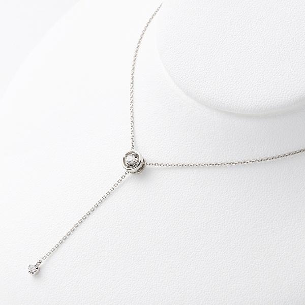 プラチナ ダイヤモンド ネックレス/ブルーム(BLOOM)