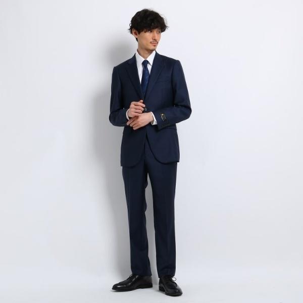 【J∞QUALITY】シャドーオルタネイトストライプ スーツ Fabric by MIYUKI KEORI/タケオキクチ(TAKEO KIKUCHI)