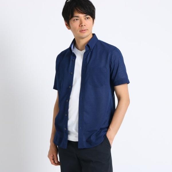 KIKUCHI)[大きいサイズ吸汗速乾ドライタッチ]番千鳥柄 前開きポロシャツ/タケオキクチ(TAKEO KIKUCHI), Z&K:6540da70 --- pecta.tj