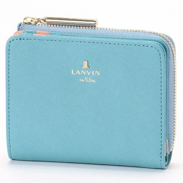 リュクサンブールカラー 二つ折り財布/ランバンオンブルー(LANVIN en Bleu) en Bleu), ハマサカチョウ:8e8b2bcc --- officewill.xsrv.jp