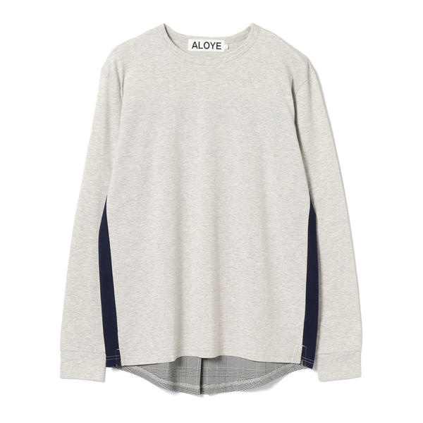 ALOYE × BEAMS T / 別注 Shirt Fabrick Long Sleeve Tee/ビームス(BEAMS)