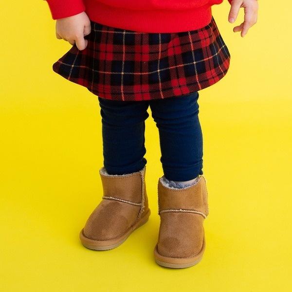 SALE スカート 海外限定 スカート付パンツ 割引も実施中 スカッツ ミキハウス 赤のマドラスチェック ホットビスケッツ