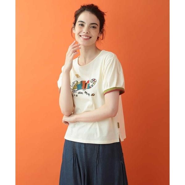 Camaleon モチーフTシャツ/ホコモモラ(JOCOMOMOLA)