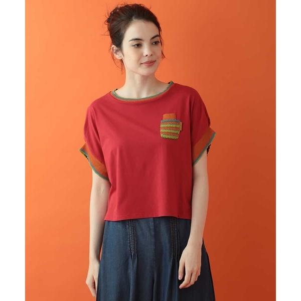 人気ブランドを Camaleon デザインTシャツ/ホコモモラ(JOCOMOMOLA), 三宅村 9a0e482a