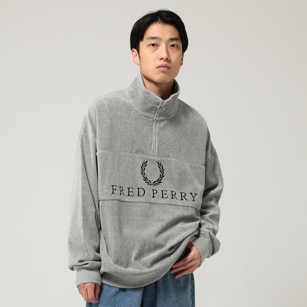 FRED PERRY × BEAMS / 90sロゴ 切替 クルースウェット/ビームス(BEAMS)