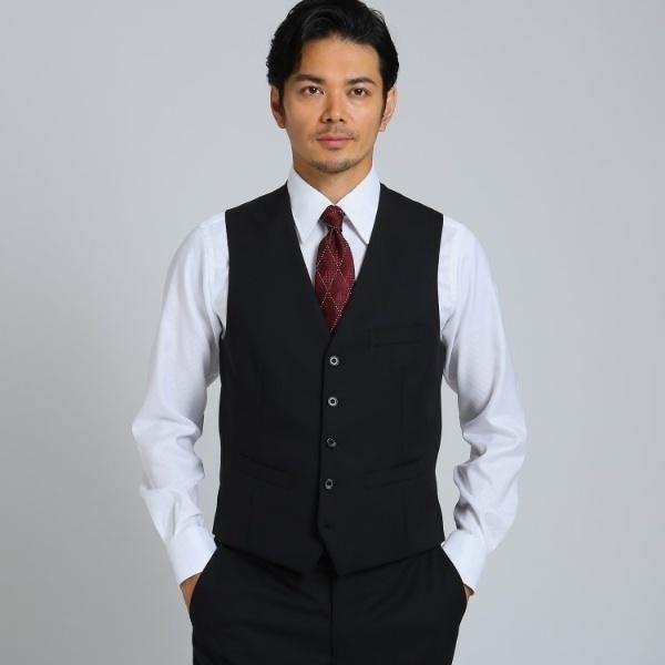 シャドーストライプ ベスト Material using CORDURA/タケオキクチ(TAKEO KIKUCHI)