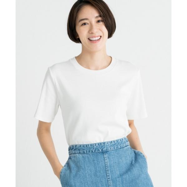 【洗える】オーガニックコットンTシャツ/自由区 L(JIYUKU L)