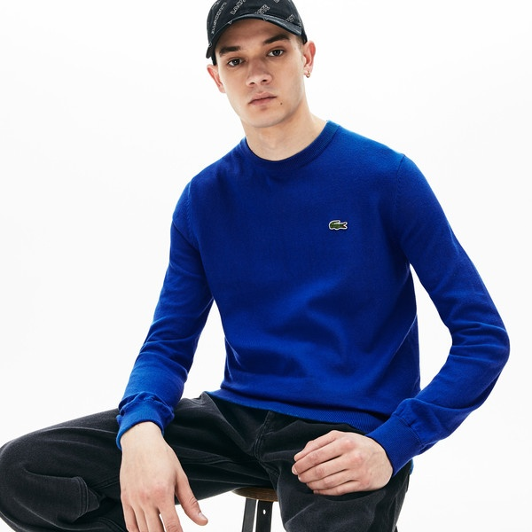 『LACOSTE『LACOSTE L!VE』カシミアブレンドコットンニットセーター/ラコステ(LACOSTE), JUJU SHOP:246d0ae6 --- officewill.xsrv.jp