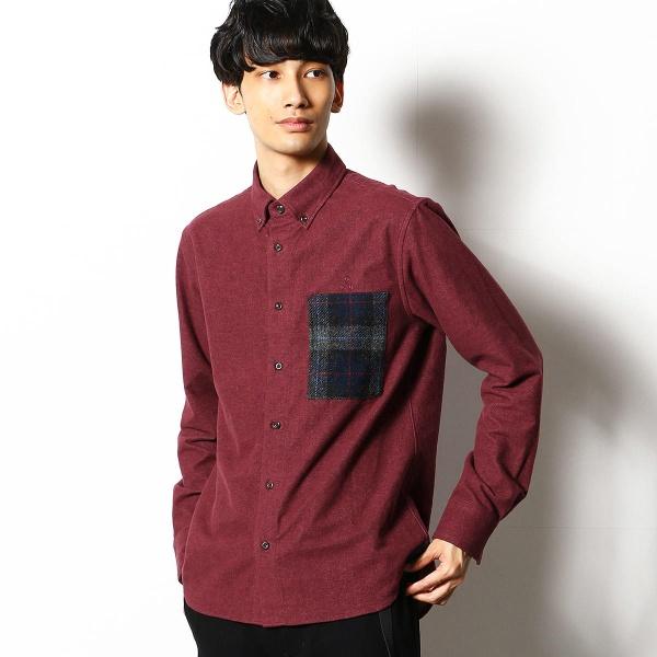 シャギーオックス×【MOON】 ボタンダウンシャツ/コムサコミューン(COMME CA COMMUNE)