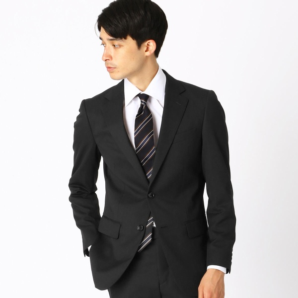 《セットアップ》 ウールギャバ スーツジャケット/コムサイズムメンズ(COMME CA ISM)