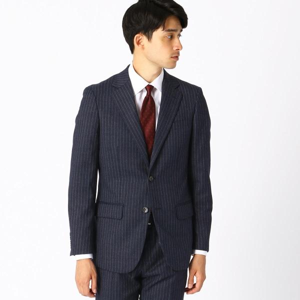 デニムミルドストライプ レギュラーモデル スーツ/コムサイズムメンズ(COMME CA ISM)