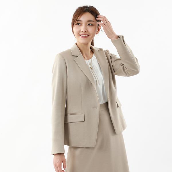 *Marisol掲載*【XSサイズ~】【美Jacket】ストレッチポンチテーラードジャケット/トランスワーク(TRANS WORK)