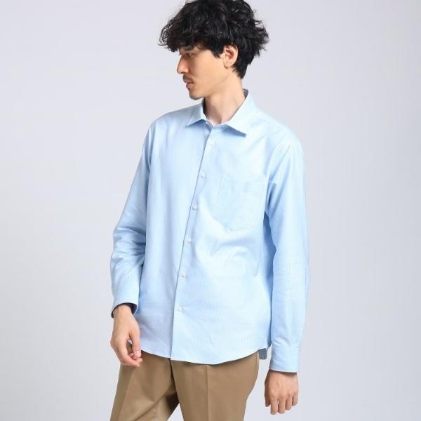 2トーン刺子ドットシャツ/タケオキクチ(TAKEO KIKUCHI)