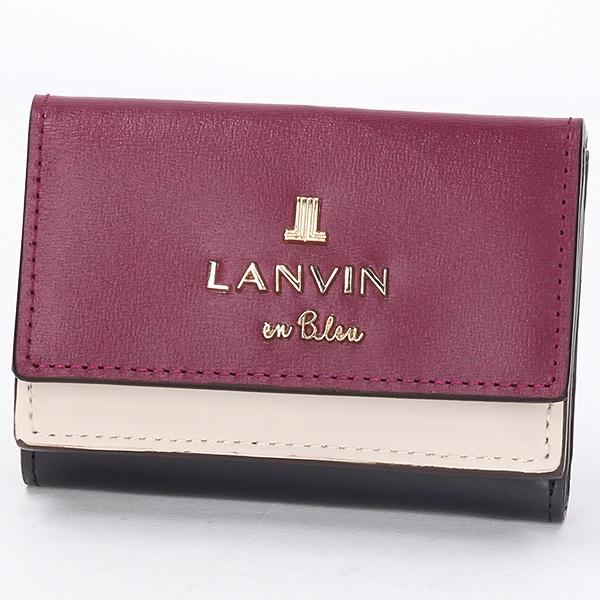 ジゼル 三つ折り財布/ランバンオンブルー(LANVIN en Bleu)