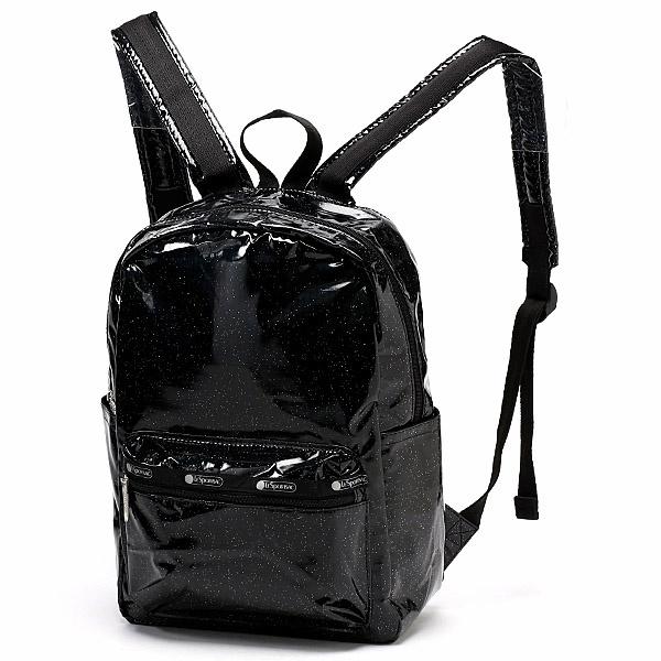 【日本限定】Medium Carson Backpack/ブラックグリッター/レスポートサック(LeSportsac)