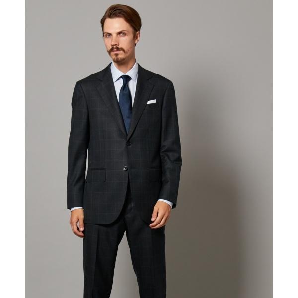【Essential Clothing】ミキシングチェック スーツ / Classics 2B/ジェイ・プレス メン(J.PRESS MEN)