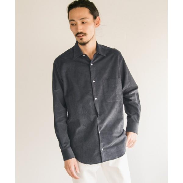 メンズシャツ(URBAN RESEARCH Tailor モクコードリラックスシャツ)/アーバンリサーチ(メンズ)(URBAN RESEARCH)