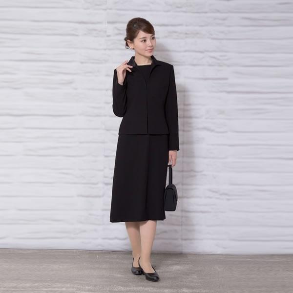 【ブラックフォーマル】レディース/喪服/ミセス/礼服/かわいい(メアリーココ)/マダムココ(MADAMECOCO)