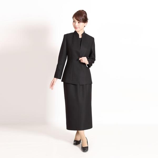 メアリーココ 【ブラックフォーマル】レディース/喪服/礼服/ロングスカート/大きいサイズ/ミセス(メアリーココ)/マダムココ(MADAMECOCO)