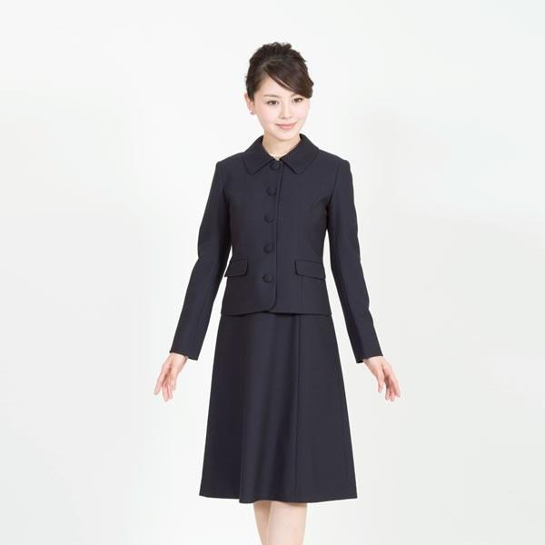 メアリーココ お受験スーツ/5つボタン濃紺スーツ/面接/レディース/大きいサイズ(メアリーココ)/エスコミュール(ESCOMUL)