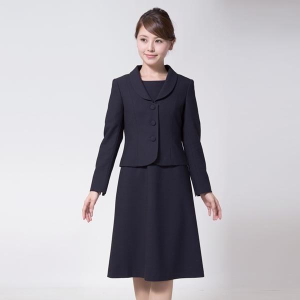 お受験スーツ/濃紺スーツ/面/レディース/大きいサイズ(メアリーココ)/エスコミュール(ESCOMUL)