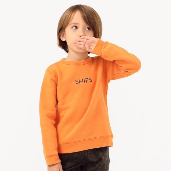 SHIPS KIDS:ロゴ スウェット(100~130cm)/シップス キッズ(SHIPS KIDS)