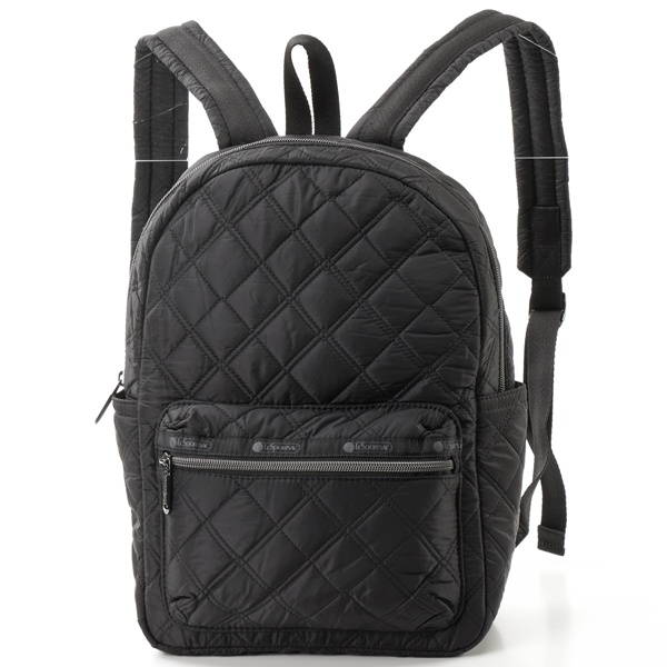 Medium Carson Backpack/マトラッセブラック/レスポートサック(LeSportsac)