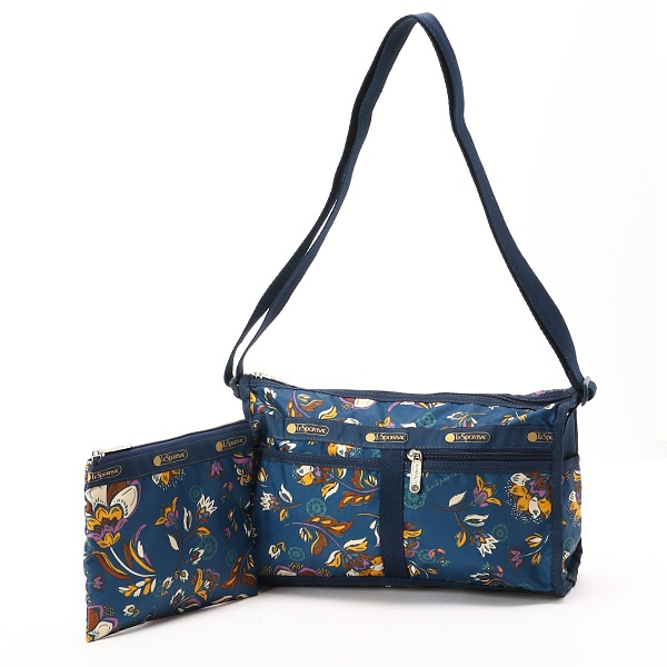 DELUXE SHOULDER SATCHEL/ゼンガーデン/レスポートサック(LeSportsac)
