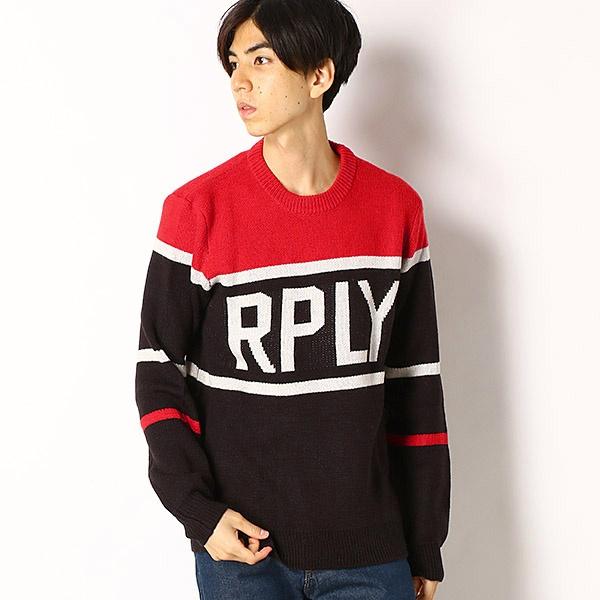 REPLAYジャガード セーター/REPLAY(REPLAY)