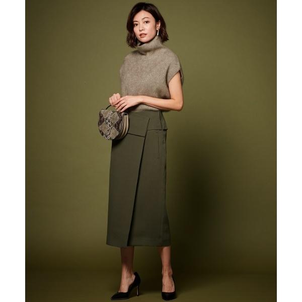 【mi-molletコラボ】Compact Double Cloth スカート/アイシービー(ICB)