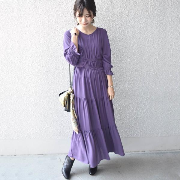 Virca:ウエストギャザードレス/カージュ(Khaju)