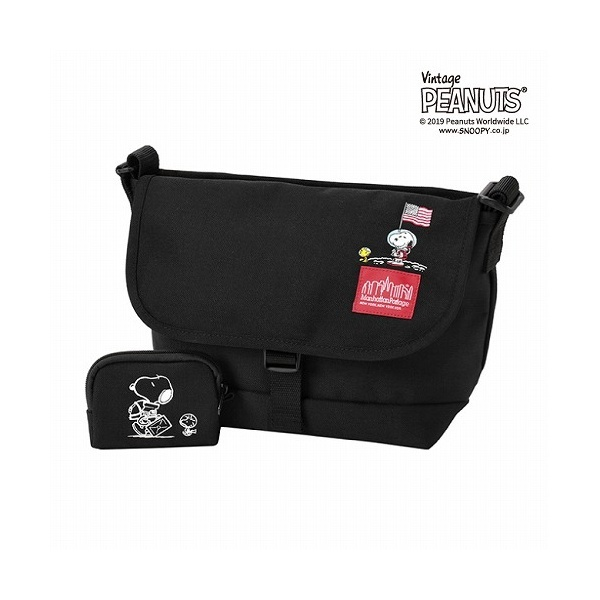 × PEANUTS Messenger Bag JRS/マンハッタンポーテージ(Manhattan Portage)