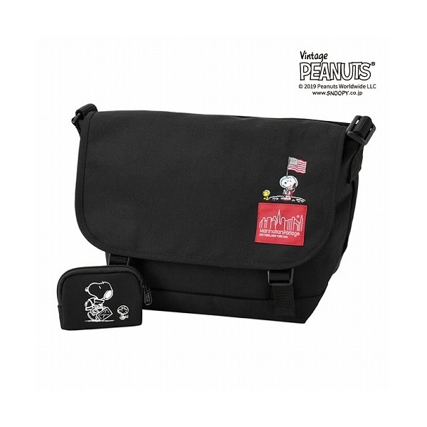 × PEANUTS Messenger Bag JRS/マンハッタンポーテージ(Manhattan Portage)