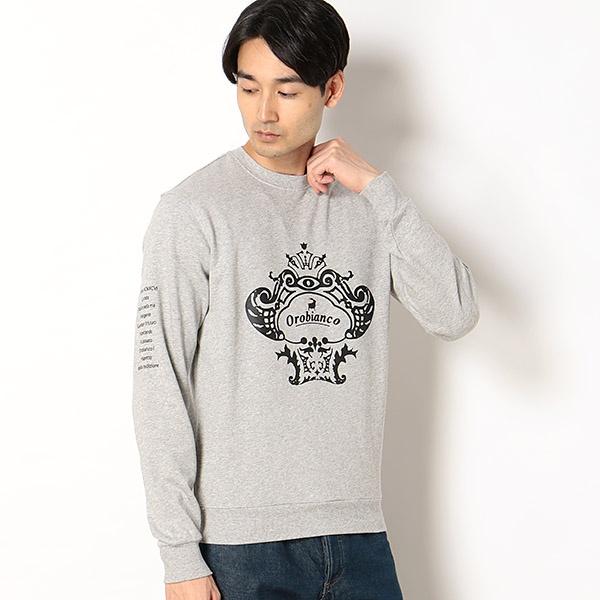 コロナロゴプリントトレーナー/オロビアンコ(カジュアル)(Orobianco)