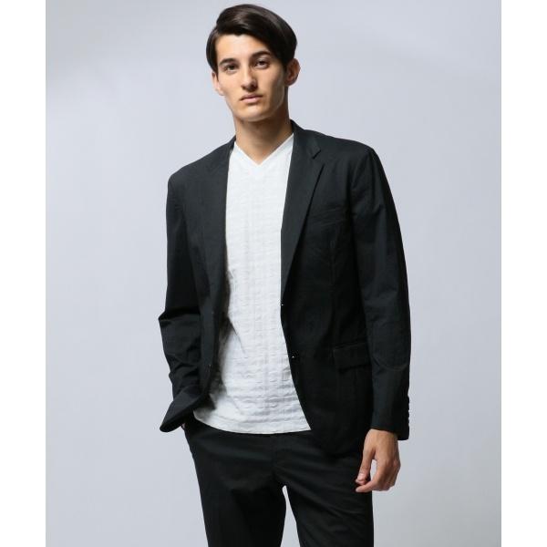 【セットアップ】ヘアライン ハイパーストレッチ ナイロン ジャケット/カルバン・クライン メン(Calvin Klein men)