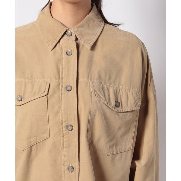 コットンビッグポケットオーバーサイズシャツ・ブラウス ベネトン レディース UNITED COLORS OF BENETTONiuPZOXTwk