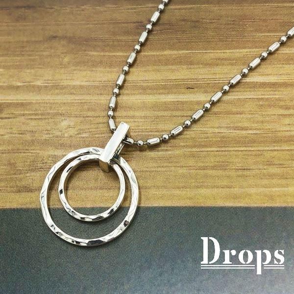 【ネックレス】グロースリングLネックレス/ドロップス(Drops)