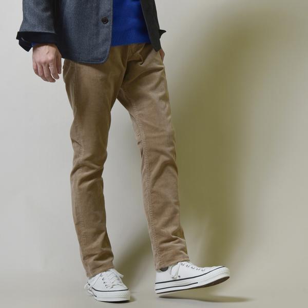 SC: オイカワデニム縫製 カラー コーデュロイ 5ポケット パンツ/シップス(メンズ)(SHIPS)