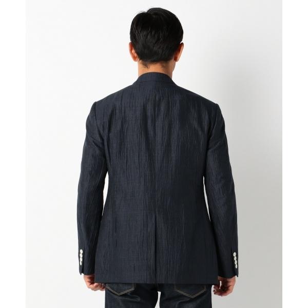 日本製 リネンワッシャージャケット オンワード ジェイ ブリッジ ONWARD J BRIDGEWEYHID29