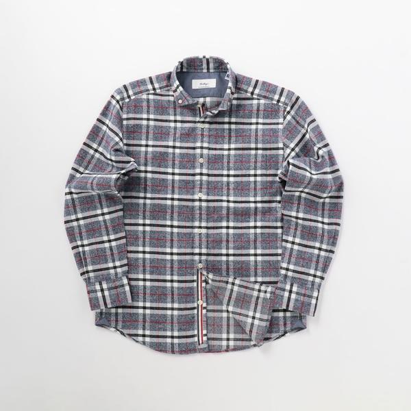 パラシュートネルカッタウェイボタンダウンシャツ/ノーリーズ メンズ(NOLLEY'S)
