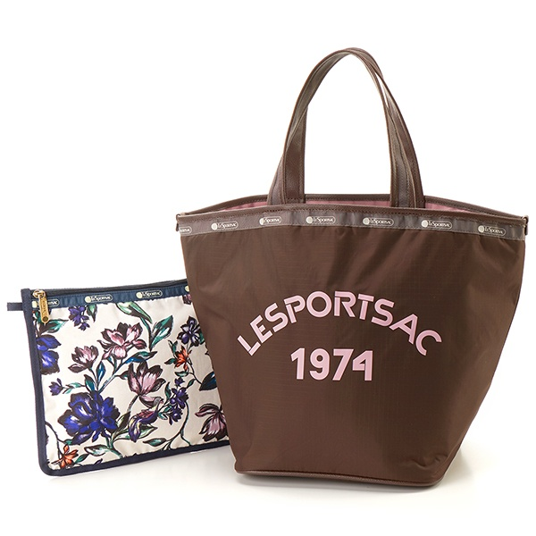 MARCHE TOTE/パワーロゴSY/レスポートサック(LeSportsac)