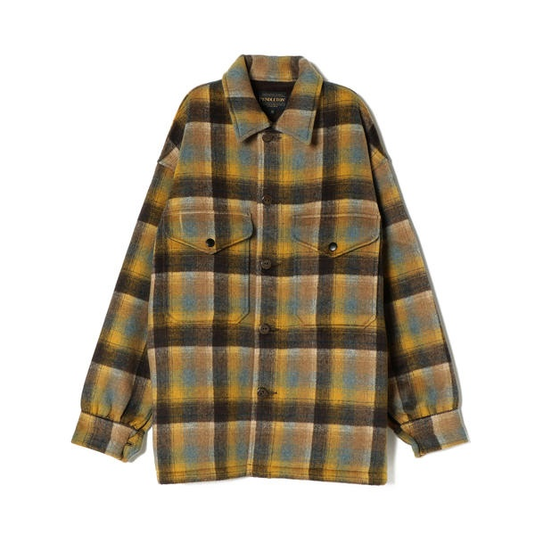 PENDLETON:チェックシャツジャケット/シップス(レディース)(SHIPS for women)