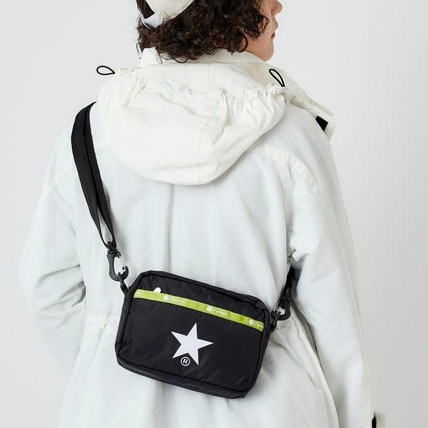 MULTIFUNCTIONAL BELT BAG/ブラックアンドキーライム/レスポートサック(LeSportsac)
