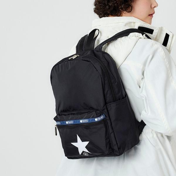Medium Carson Backpack/ブラックアンドミラージュ/レスポートサック(LeSportsac)
