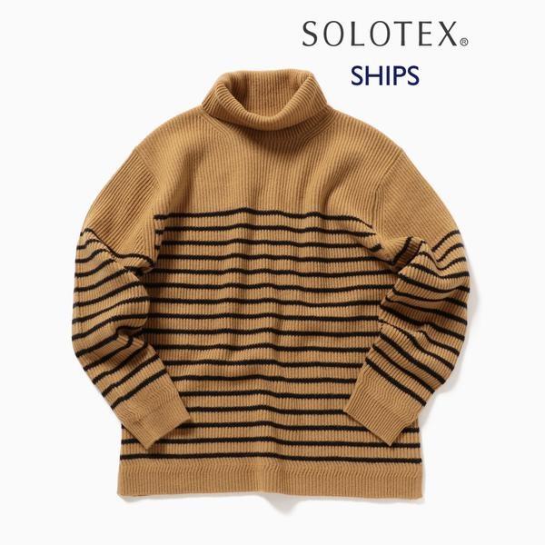 SC: SOLOTEX(R) カシミヤブレンド タートルネック ニット/シップス(メンズ)(SHIPS)