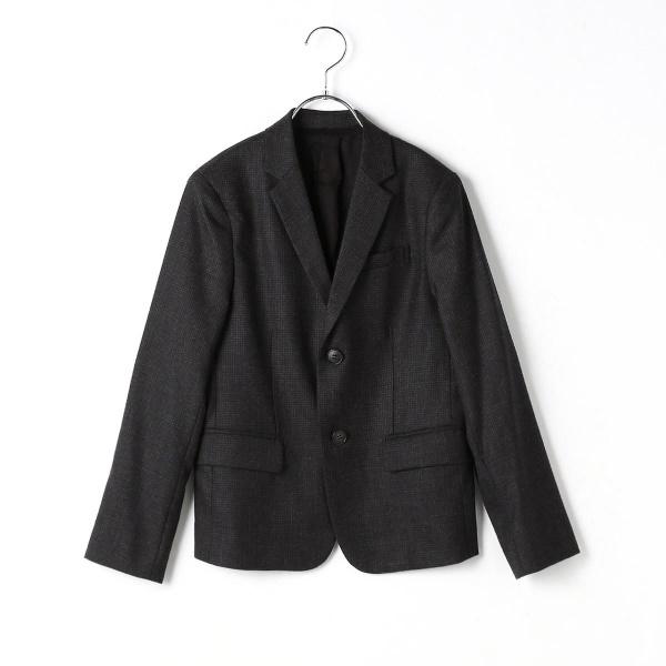 〔140cm~〕ハウンドトゥース柄ジャケット/コムサフィユ(COMME CA FILLE)