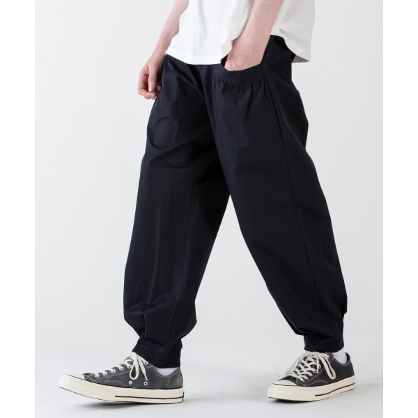 Balloon Tuck Wide Tapered Pants/レアセル(rehacer)