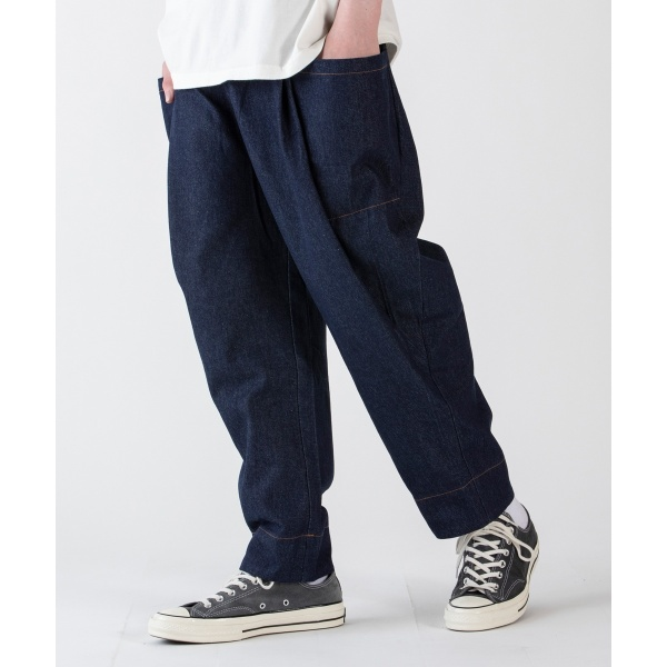 Bulky Wide Denim Pants/レアセル(rehacer)