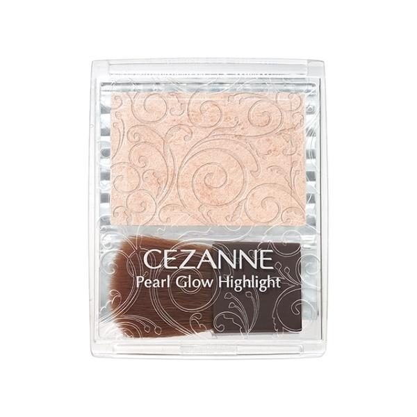 再入荷 ケショウヒン パールグロウハイライト 贈り物 01 セザンヌ シャンパンベージュ AL完売しました CEZANNE